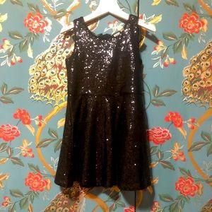 Sparkle black Gap Girls dress